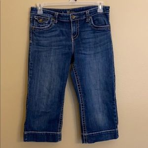 Kut From The Kloth Pedal Pusher Crop Jeans Size 10
